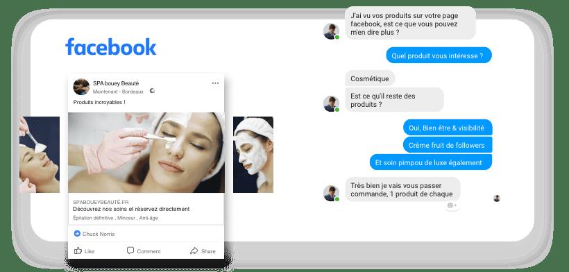 agence web transformez vos contacts facebook en clients